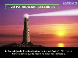 20 Paradojas Celebres. - il blog | Blogs, Humor, Encuestas