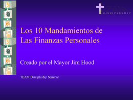 10 Commandments of Personal Finance