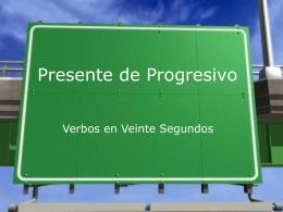 Presente de Progresivo