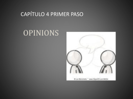 OPINIONS - Mrs. Serrato Spanish 1 & 2