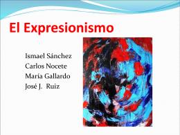 El Expresionismo