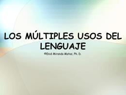 LOS USOS DEL LENGUAJE - * Luzmaggy Weblog * | blog …