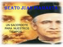 BEATO JUAN PIAMARTA