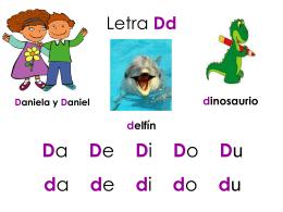 Letra Dd