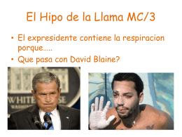 El Hipo de la Llama MC/3