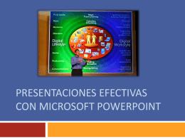 Presentaciones Efectivas con Microsoft PowerPoint