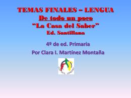 EL GRUPO NOMINAL - Espartero Primaria's Blog | Primaria