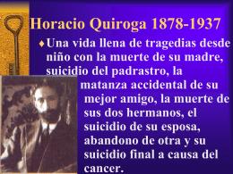 Horacio Quiroga 1878-1937