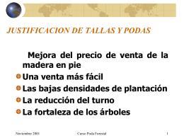 JUSTIFICACION DE TALLAS Y PODAS