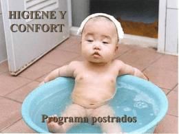 HIGIENE Y CONFORT - Servicio de Salud del Maule