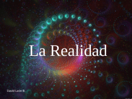 La Realidad - Mariamojarro's Blog | Just another …