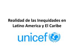 Realidad de las Inequidades en LAC