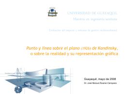 maestria ingenieria sanitaria Guayaquil 2008
