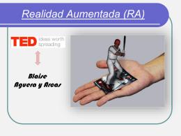 Realidad Aumentada (RA)