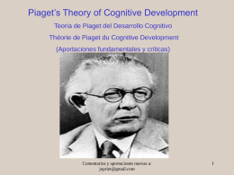 Piaget's Theory - INTEF
