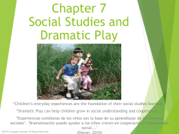 Chapter 7 Social Studies and Dramatic Play