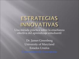 Estrategias innovativas - Sinergia Educ y Cia. Ltda