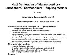 Solar Wind-Magnetosphere