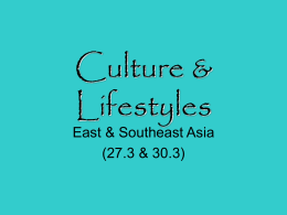 Culture & Lifestyles