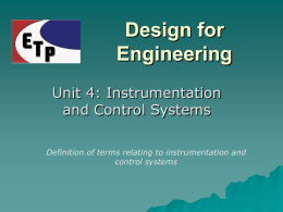 Design for Engineering