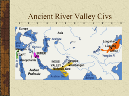 ANCIENT CIVILIZATIONS - Phillipsburg School District