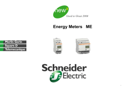 Diapositive 1 - Schneider Electric