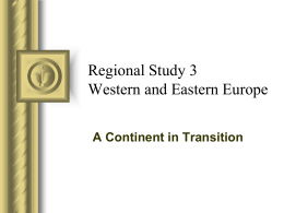 Regional Study 2 Latin America