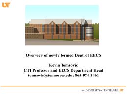 KevinTomsovic - EECS User Home Pages