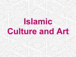Islamic Culture and Art - SCF Faculty Site Homepage