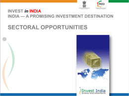 3 Sectoral Slides - India in South Africa