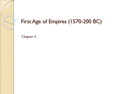 First Age of Empires, Classical Greece, Ancient Rome and