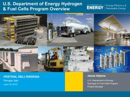 Presentation Title - Festival dell'Energia