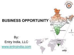 Slide 1 - Entry India