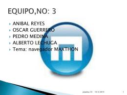 EQUIPO,NO: 3