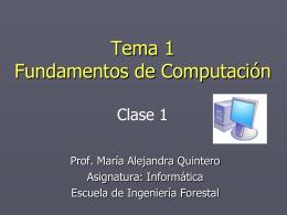Clase 1 - Web del Profesor