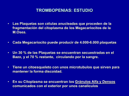 trombopenias-clase-10 - Sociedad Castellano Manchega …