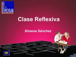 Clase Reflexiva - Liceo Pablo Neruda