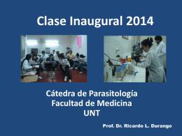 Clase Inaugural 2014 - Facultad de Medicina