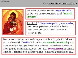 CUARTO MANDAMIENTO, 1