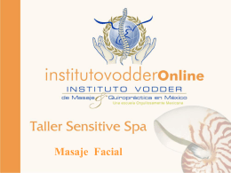 Diapositiva 1 - Instituto Vodder Online