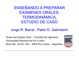 Solar Energy Simulations: experiencies in undergraduate
