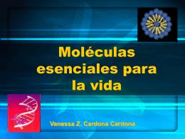 Moleculas esenciales para la vida