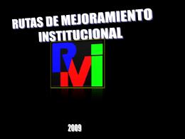 PROYECTO DE VIDA INSTITUCIONAL