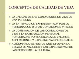CONCEPTOS DE CALIDAD