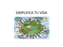 SIMPLIFICA TU VIDA - grupocinternacional
