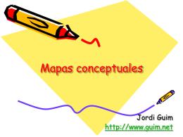 Mapas conceptuales - DIM-UAB