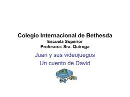 Colegio Internacional de Bethesda Escuela Superior
