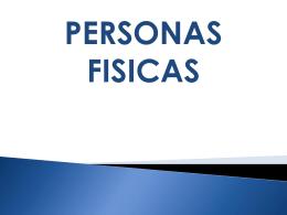 PERSONAS FISICAS I.S.R.