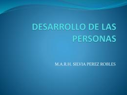 DESARROLLO DE LAS PERSONAS