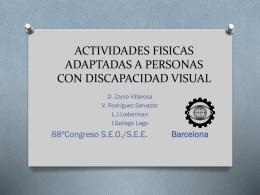 ACTIVIDADES FISICAS ADAPTADAS A PERSONAS CON …